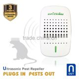 Chemical-Free 100% Safe electronic ultrasonic pest mosquito repeller 2016 latest pest repeller