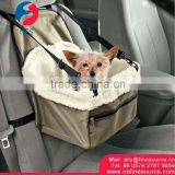 Dog Booster Car Seat Travel Portable Car Pet Dog Booster Seat
