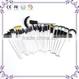 36pcs whole cosmetic brush set for fashion show personalized makeup brush belt wholesale