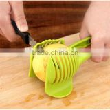 Lemon Fruit Cutting Tongs Lemon tomato slicer Tomato egg circular slicer Vegetable Chopper food clip