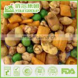 Party Snacks Mix 50, PM50, Cracker and peanuts Blended, BRC salted bulk mix rice cracker, Nutritious chinese snacks