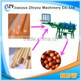 Low Cost Automatic wood buddha bead wooden ball making machine for sale(wechat:peggylpp)