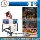 braiding machine to make rope /cord/belt/string/thread from Shandong Rope Net Machinery Vicky Cell:8618253809206