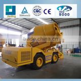 3.5 m3 Diesel Mobile Concrete Mixer /Precast Small Mobile Self Loading Concrete Mixer Truck for Sale