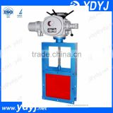 China supplier flexible electric knife gate valve for bulk material