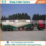 Customized types of tanker trailers dry silo bulk cement bulker tank semi trailer for sale