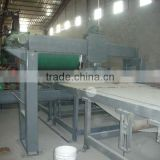 High automation particle board making line/cross cuuting saw
