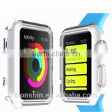 Hot sale Stylish Shock Resistant Soft Clear TPU Cases for Apple iWatch