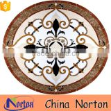 Norton customized size wholesale Hotel lobby floor marble round medallion NTMS-MM002L