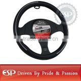 #19578 38cm diameter Genuine Leather Cool Steering wheel cover
