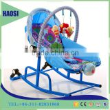 China Wholesale Toys Indoor Baby Cradle Swing/ Baby Wooden Horse Baby Cribs 2 in 1