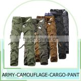 Hot sale economic unisex european style cargo work pants Plus Size Multi-pocket Overalls Trousers Men 6 Color (No Belt)
