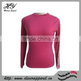 Long Sleeve Base Layer Women Wool Merino Jersey Sportswear