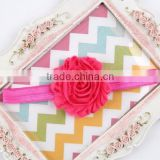 Chiffon Flower Elastic Headband Colorful Baby Hairwear For Photography Props