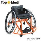 Topmedi Aluminum manual folded lightweight leisure basketball sport wheelchair prices