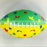 Inflatable rugby ball toy for children