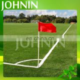 Wholesale triangle polyester customized sport soccer corner flag