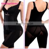 Black Transparent Corset Women Leg Slimming Shapewear Brazilian Carboxy Body Shaper