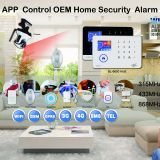 WIFI+GSM/WIFI+WCDMA alarm system standby battery 24h home alarm system