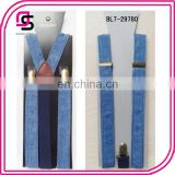 Denim suspender,Jeans suspender,fabric suspender