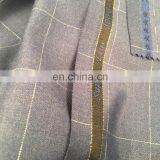 newwuhuan tr suit fabric wh50031 check design
