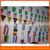 wholesale world cup national bunting flag