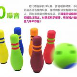 Indoor Sport Toy NBR Plastic Foam Bowling Pins For Children