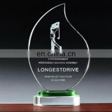 Customized design acrylic wholesale trophy