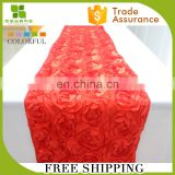 outer door wedding rosette decorative table runner