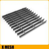 35x3mm Hot dipped Galvanized Ms Steel Grating For Cement Grinding Section