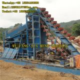 5m-20m Simple Structure Bucket Chain Gold Dredger Boat