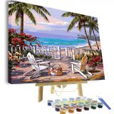 Painting by Numbers Kit DIY Oil Painting for Adults Kids 40x50 A2