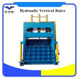 Vertical Used Clothes Cardboard Baling Press Machine Scrap Paper Baler