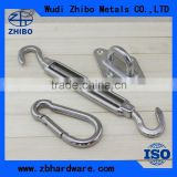 Stainless steel material awning parts awning accessories awning hardware for sale