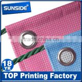 digital printing mesh banner/waterproof fence mesh for outdoor advertising-qt