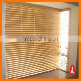 Curtain times Manual System Natural Bass Wooden Venetian Window Blinds With Cord String Wooden Door Beads