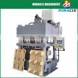 Four Column hydraulic press wood pallet making machine for sale