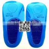Gel Heel Cushion/Heel Massage Cup/Gel Heel Cup/Gel Arch Support/Gel Othotics/Heel Massaging Insole