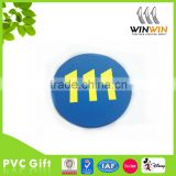 No 111 PVC rubber coaster for promotion