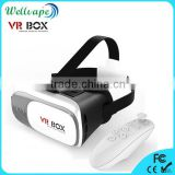 Factory direct sales open sex video 3d plastic glasses VR 3D Virtual Video Glasses for smart phone