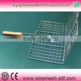 stainless steel bbq grill net