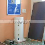Black chrome Solar Energy-saving wall-hanged solar products with Porcelain enamel inner tank