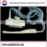 used Biosound Esaote ultrasound endocavity probe EC123 doppler color transvaginal transducer