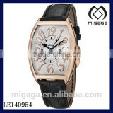 Fashion men's watch mechanical automatic 18K gold plating/Classic Rose Gold Automatic Watch