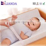keep baby comfortably and securely baby contoured changing pad