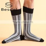 2015 new design four Seasons general Women Men lovers striped knee comfortable warmer sport socks