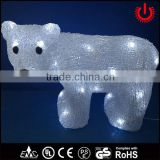christmas decorative LED motif lights with bear