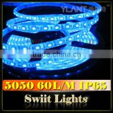 Most Popular 12V SMD5050/3528 Self Adhesive Silicone Strip LED IP65
