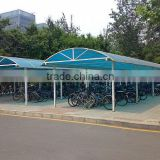 5.5m *3m *2.7m,1set, aluminum frame and polycarbonate blue solid sheet carport,automobile shelter,bus shed,garden shelter