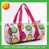 15L Cute round shape children casual travelling canvas sling baby travel bag